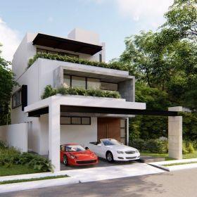 Venta de estupenda casa en Aqua Residencial , 3 recamaras