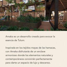 Departamento Venta Amaka Tulum La Veleta