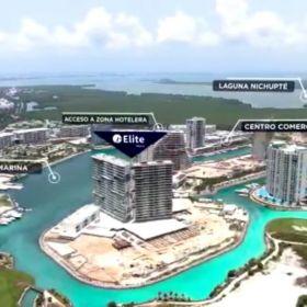 Departamento en Venta en Cancun Desarrollo Elite Marea en Puerto Cancun Próxima Entrega